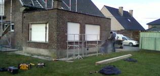 Van Der Mauten Stijn - Wambeek - Gevelrenovatie